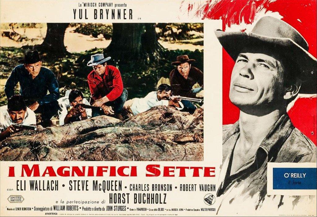 «Locandina» italienne du film de John Sturges.